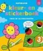 ,<b>Superleuk kleur- en stickerboek voor de allerkleinsten 2-4 jaar</b>