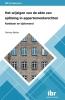 M.N.  Bakker ,Het wijzigen van de akte van splitsing in appartementsrechten