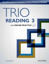 Adams, Kate Trio Reading 3 Students Book Pack