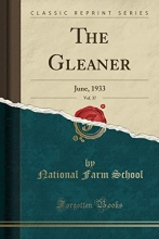 School, National Farm School, N: Gleaner, Vol. 37