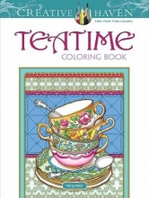 Marty Noble Creative Haven Teatime Coloring Book