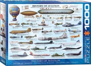 Eur-6000-0086 , Puzzel history of aviation eurographics 1000 stuks