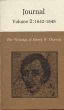 Thoreau, Henry David The Writings of Henry David Thoreau, Volume 2 - Journal, Volume 2: 1842-1848.