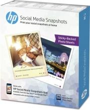 , Fotopapier HP W2G60A 10x13cm zelfklevend 265gr