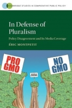 Montpetit, Éric In Defense of Pluralism