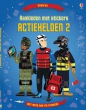 Usborne Stickerboek Aankleden Met Stickers - Actiehelden II