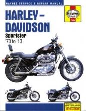 Alan Ahlstrand Harley-Davidson Sportster Service & Repair Manual (70 - 13)