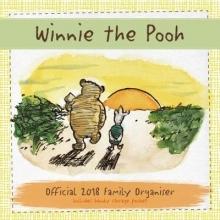 Winnie The Pooh Family Organiser Official 2018 Calendar - Fa