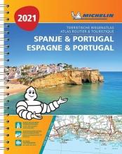 , ATLAS MICHELIN SPANJE & PORTUGAL 2021