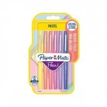 , Fineliner Paper Mate Flair Pastel blister à 6 kleuren