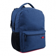 , Rugzak qc bags 42cm navy/rosso