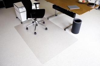 , vloermat Kangaro voor tapijt 120 x 180 cm transparant PET   2,1mm/nop 2,1