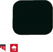 , Muismat Quantore 230x190x6mm zwart