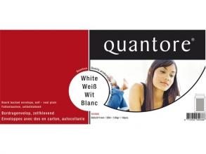 , Envelop Quantore bordrug EB4 262x371mm zelfkl. wit 10stuks