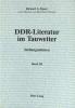 Zipser, Richard A., DDR-Literatur im Tauwetter