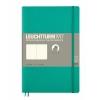 Lt358310 , Leuchtturm notitieboek softcover 19x12.5 cm blanco emerald green