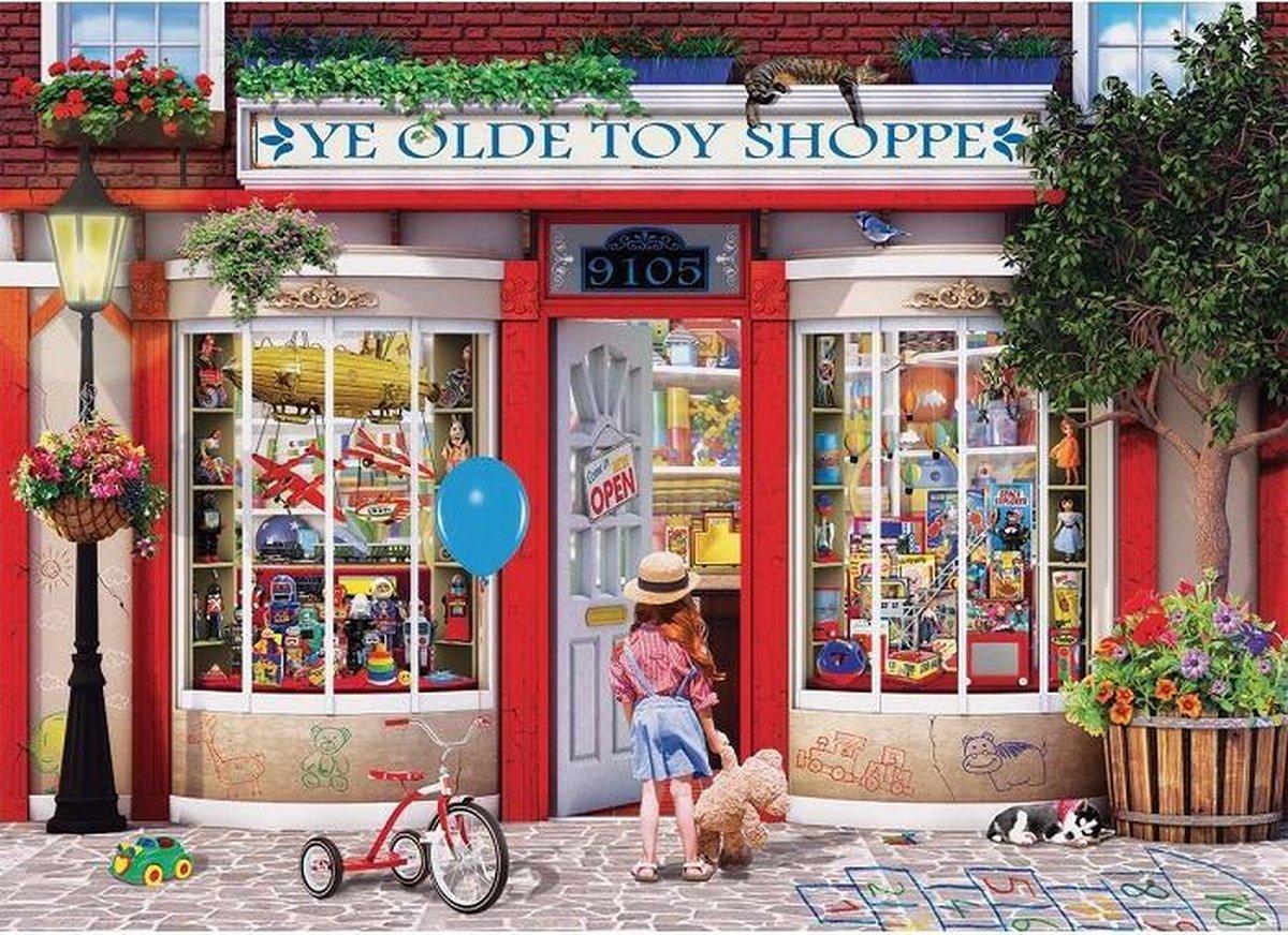 Eur-6000-5406,Puzzel eurographics ye old toy shoppe 1000 stukjes