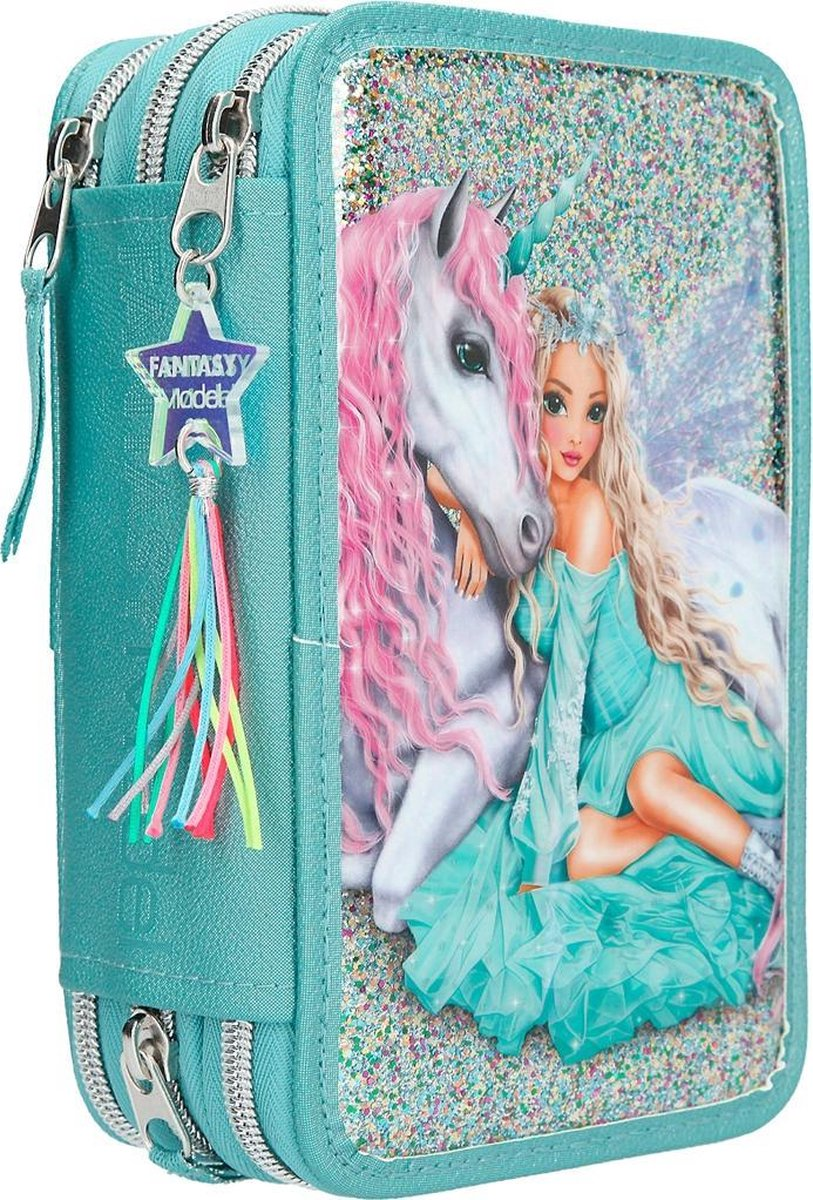 ,Fantasy model 3-vaks etui icefriends