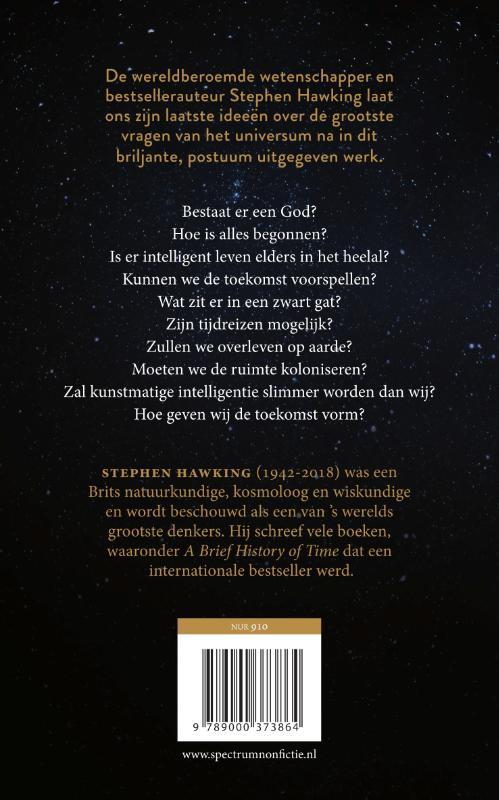 Stephen Hawking,De antwoorden op de grote vragen