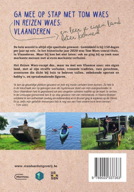 Tom Waes,Reizen Waes Vlaanderen