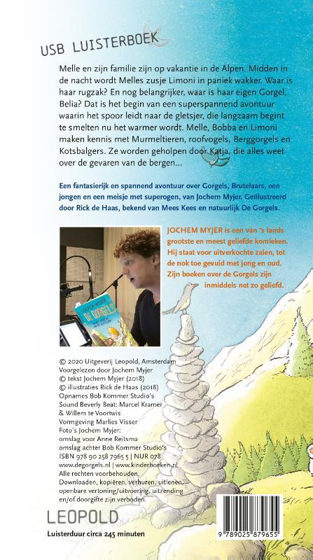 Jochem Myjer,De Gorgels en het geheim van de gletsjer USB