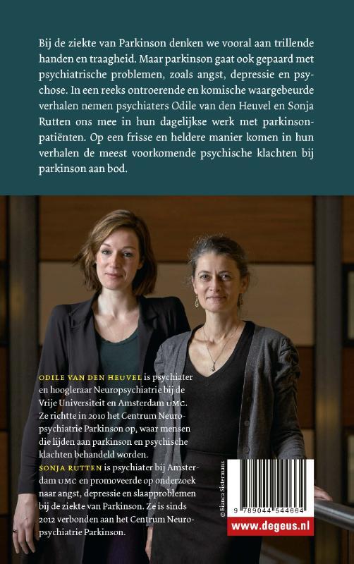 Odile van den Heuvel, Sonja Rutten,Parkinson bij de psychiater