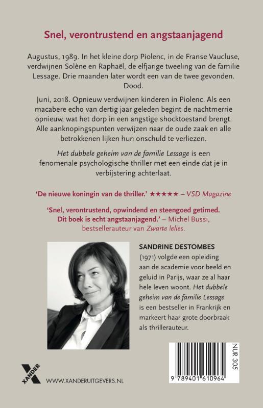 Sandrine  Destombes,Het dubbele geheim van de familie Lessage