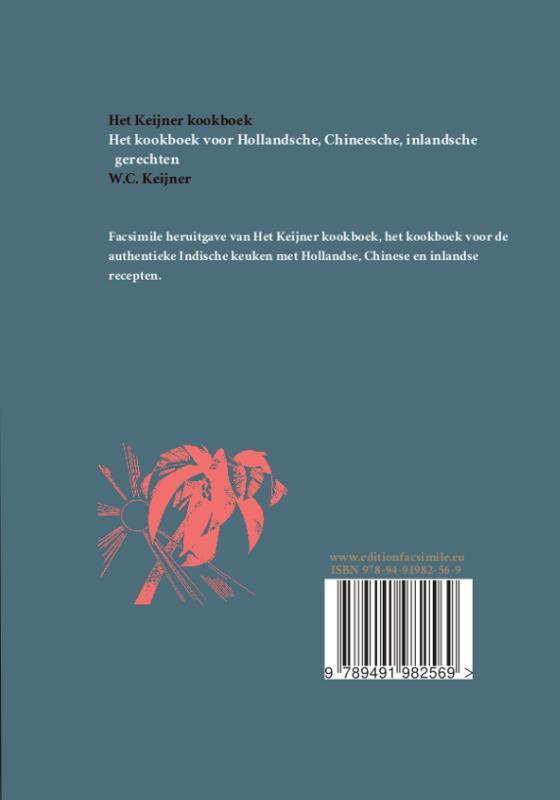 W.C. Keijner,Het Keijner kookboek