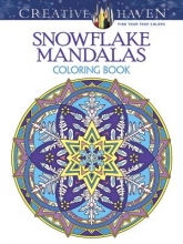 Noble, Marty Creative Haven Snowflake Mandalas Coloring Book