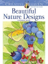 Soffer, Ruth Creative Haven Beautiful Nature Designs Coloring Book