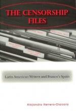 Herrero-olaizola, Alejandro The Censorship Files
