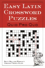 Betty Wallace Robinett,   Virginia French Allen Easy Latin Crossword Puzzles
