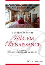 Sherrard-Johnson, Cherene A Companion to the Harlem Renaissance