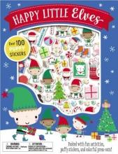 Make Believe Ideas Ltd Happy Little Elves [With Puffy Stickers]