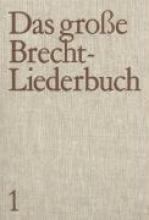 Brecht, Bertolt Das groe Brecht-Liederbuch