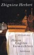 Herbert, Zbigniew Herrn Cogitos Vermchtnis