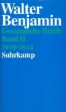 Benjamin, Walter Briefe 1919 - 1924