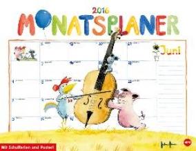Helme Heine Monatsplaner 2016