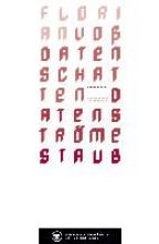 Voss, Florian Datenschatten Datenstrme Staub