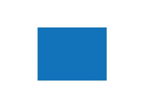 , tekenpapier Folia 50x70cm 130gr pak a 25 vel donkerblauw