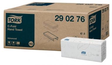 , Handdoek Tork H3 290276 Advanced C 2laags 49x25cm 20x80st