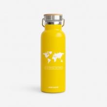 , Woody drinkbus Wereld Geel - Wit