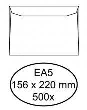 , Envelop Hermes bank EA5 156x220mm wit 500stuks