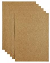 , Kopieerpapier Papicolor A4 200gr 6vel kraft bruin