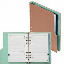 , Agenda 2020-2021 organizer Kalpa A5 compact pastel roze/groen