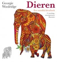 Georgie  Woolridge Dieren, een mindful kleurboek