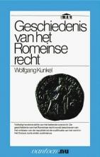 W. Kunkel , Geschiedenis van het Romeinse recht