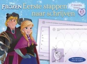 Disney Eerste stappen naar schrijven (4-5 j.) Frozen