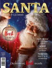 , Santa Kerstglossy 2019