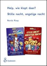 Nanda  Roep Help, wie klopt daar - Stille nacht, angstige nacht - dyslexieuitgave